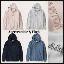Abercrombie & Fitch(アバクロ) パーカー・フーディ Abercrombie & Fitch ☆Elevated フロント 袖 ロゴ☆ フーディ
