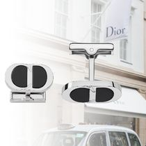 DIOR CD Icon Cufflinks -925/1000 Silver and Resin