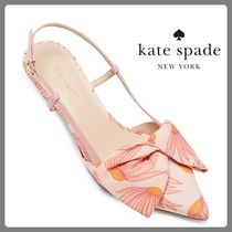 【Kate Spade】SALE!! Marseille Pumps☆花柄リボンパンプス☆