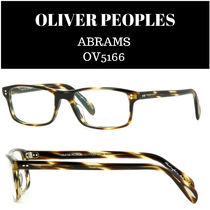 OLIVER PEOPLES☆ABRAMS OV5166 スクエアメガネフレーム