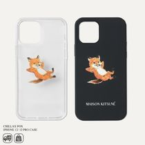 MAISON KITSUNE - CHILLAX FOX IPHONE 12/12 PRO CASE
