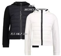 21SS【MONCLER】袖ロゴ付きパッド入りMIXスウェットパーカー12A
