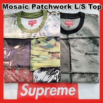 Supreme Mosaic Patchwork L/S Top TEE SS 21 WEEK 1