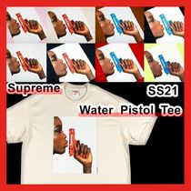 Supreme Water Pistol Tee WEEK 1 SS 21 2021