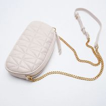 ZARA【NEW】QUILTED CROSSBODY MOBILE PHONE BAG