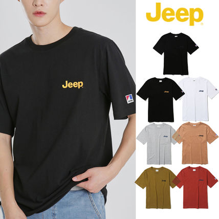 [JEEP] Classic Small Logo Half-Sleeves (7色) [公式]