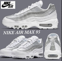 日本未入荷☆NIKE AIR MAX 95☆White Metallic Silver/送料込み