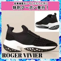 Roger Vivier VIV' RUN SNEAKERS in Leather ○関税・送料無料○