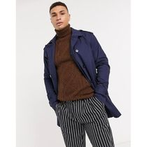 Jack & Jones Premium trench with belt in navy