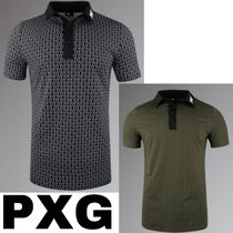 【PXG】ATHLETIC FIT CROSSED DRIVER POLO ポロシャツ