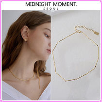 【MIDNIGHT MOMENT.】joint necklace (choker)〜ネックレス