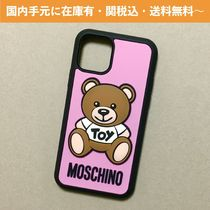 MOSCHINO PINK TEDDY BEAR iPhone ケース