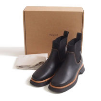 COS::CHUNKY LEATHER CHELSEA BOOTS:EUR41[RESALE]