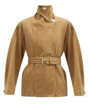 ISABEL MARANT ETOILE(イザベルマランエトワール) ジャケット Isabel Marant Etoile Prunille cotton-blend canvas jacket