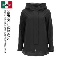 Herno laminar 2-layer gore-tex hooded jacket