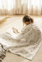 DECO VIEW(デコヴュー) その他 [DECO VIEW] 韓国おしゃれ☆Baby Forest Ripple 2-Layer Blanket