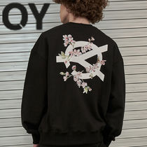 ★OY★CHERRY BLOSSOMS LOGO MTM-BLACK★正規品/韓国直送料込