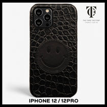 ★関送込★THE CASE FACTORY★iPhone 12/12 Pro★SMILEY