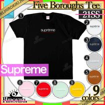21SS /Supreme Five Boroughs Tee ファイブ ボーダーズ Tシャツ
