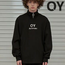 ★OY★SLOGAN ZIPPER POLA SLEEVE T-BLACK★正規品/韓国直送料込