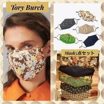 Tory Burch★PRINTED FACE MASK, SET OF 5素敵なマスク5点セット