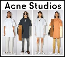 2021SS新作♪ 日本未入荷 ☆ACNE☆ Cotton t-shirt dress