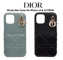 【DIOR】LADY DIOR COVER FOR IPHONE 12 PRO iphoneケース