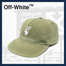 【 Off-White 】Logo Embroidered ベースボールキャップ