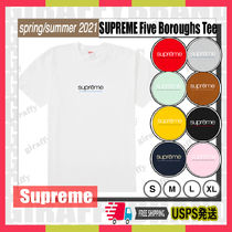 【21SS】SUPREME Five Boroughs Tee [追跡付き]