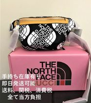 THE NORTH FACE x GUCCI ボディバッグ Black & White(希少品)