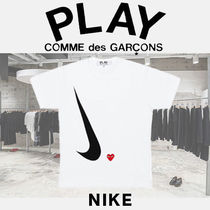 【PLAY COMME des GARCONS  x NIKE T-Shirt (White)】