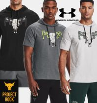 UNDER ARMOUR×Project Rock Short Sleeve Hoodie 1361719