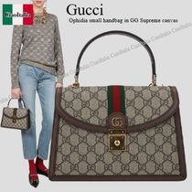 Gucci Ophidia small handbag in GG Supreme canvas