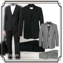 Maison Margiela☆ Two-piece Single-breasted Suit Black/Gray