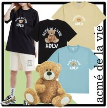 ☆関税込☆acme'de la vie★TEDDY BEAR SHORT SLEEVE T-SHIR.T★