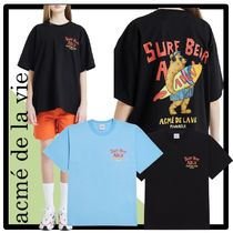 ☆関税込☆acme'de la vie★SURFING BEAR SHORT SLEEVE T-SHIR.T