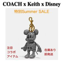 COACH* ミッキー バッグチャーム Keith Haring Collectible