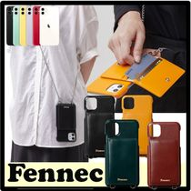 ☆関税込☆FENNEC★LEATHER iPHONE 11PRO STRAP POCKET CAS.E★