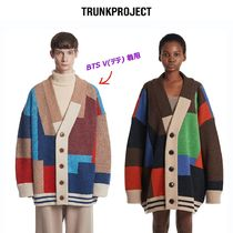 BTS 愛用◆TRUNK PROJECT◆ COLOR MIXED WOOL CARDIGAN JACKET
