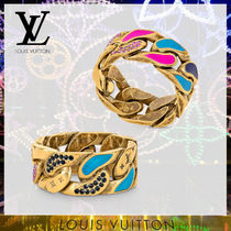 Louis Vuitton☆20AW☆バーグ・チェーン パッチーズ リング Gold