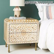 お洒落★ANTHROPOLOGIE★Handcarved Albaron Nightstand
