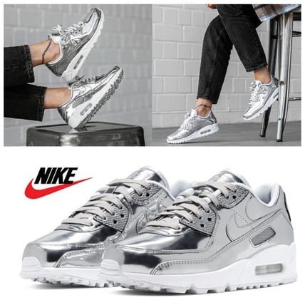 ナイキ ☆ Nike Air Max 90 Metallic Silver ☆ 23~29