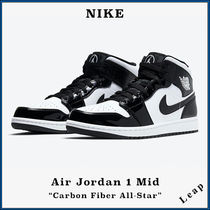 "【NIKE】人気 NIKE Air Jordan 1 Mid ""Carbon Fiber All-Star"""