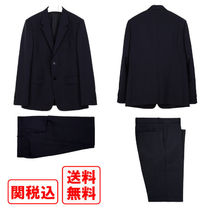 関税・送料込 Jil Sander Dark blue wool and mohair スーツ
