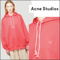 再入荷【ACNE STUDIOS】 Oversized Hooded Sweatshirt in Pink