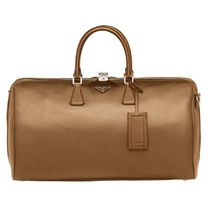 【日本入手困難】Saffiano Leather Travel Bag