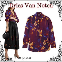 21SS☆Dries Van Noten ☆ *Clavelly*フローラルプリント シャツ