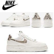 """【NIKE】 Air Force 1 スネーク柄 """"Xotic"""" ☆レディースシューズ"""