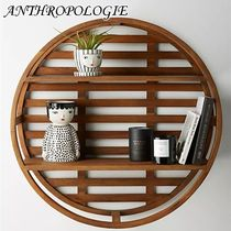 お洒落★ANTHROPOLOGIE★Wooden Wheel Shelving Unit