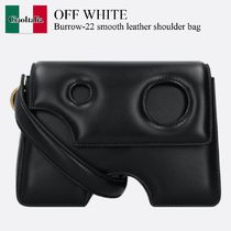 Off White Burrow-22 smooth leather shoulder bag